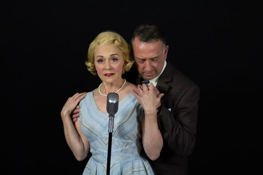 "Susan Haefner and Michael Marotta in Florida Rep's ""Tenderly"""
