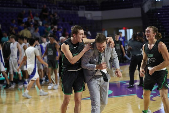 Fort Myers High School beat Canterbury School in the City of Palms Classic tip-off game at Suncoast Credit Union Arena last month. The score was 72-60. Fort Myers' Javian McCollum led all scorers with 25 points.