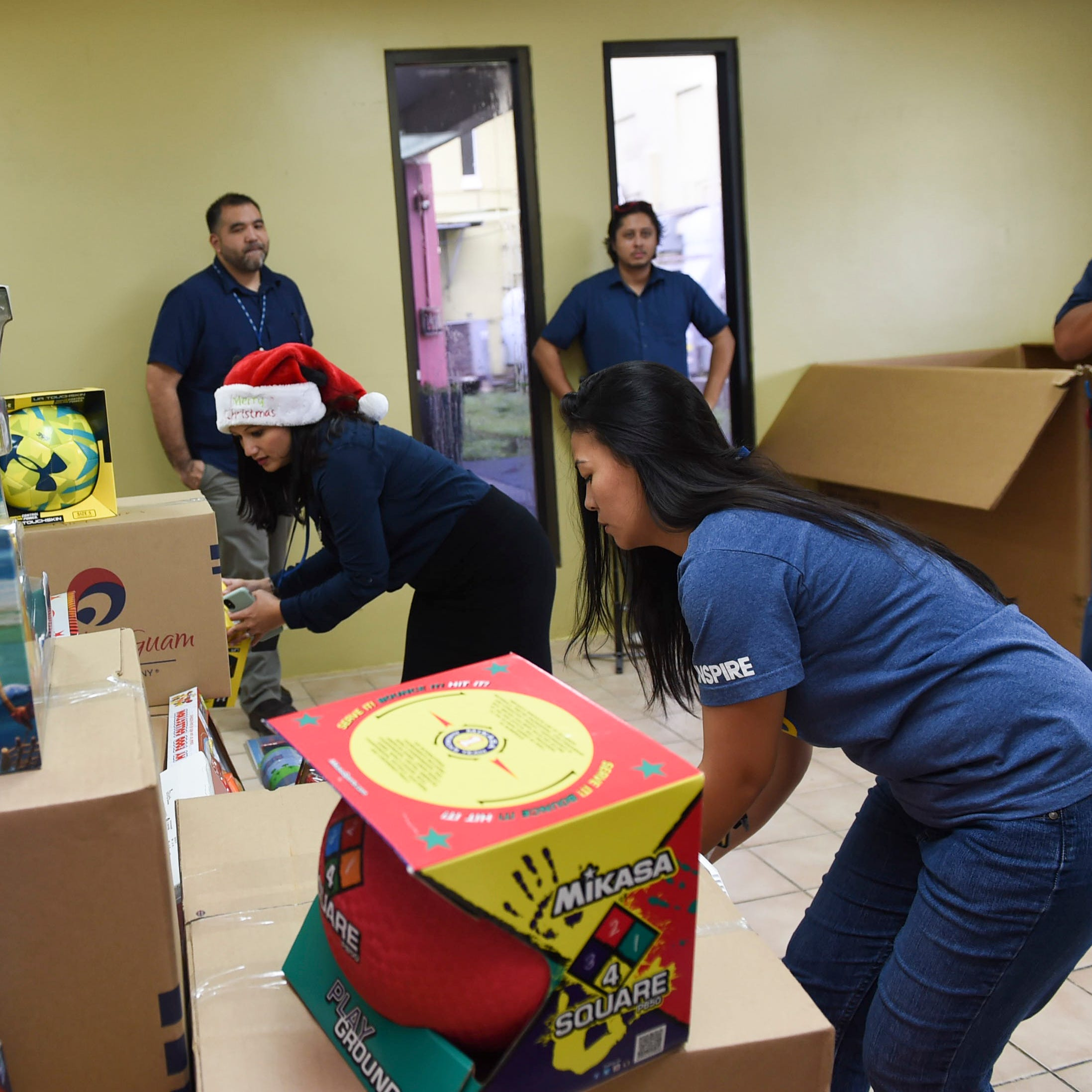 GTA donates more than 900 toys for CNMI children
