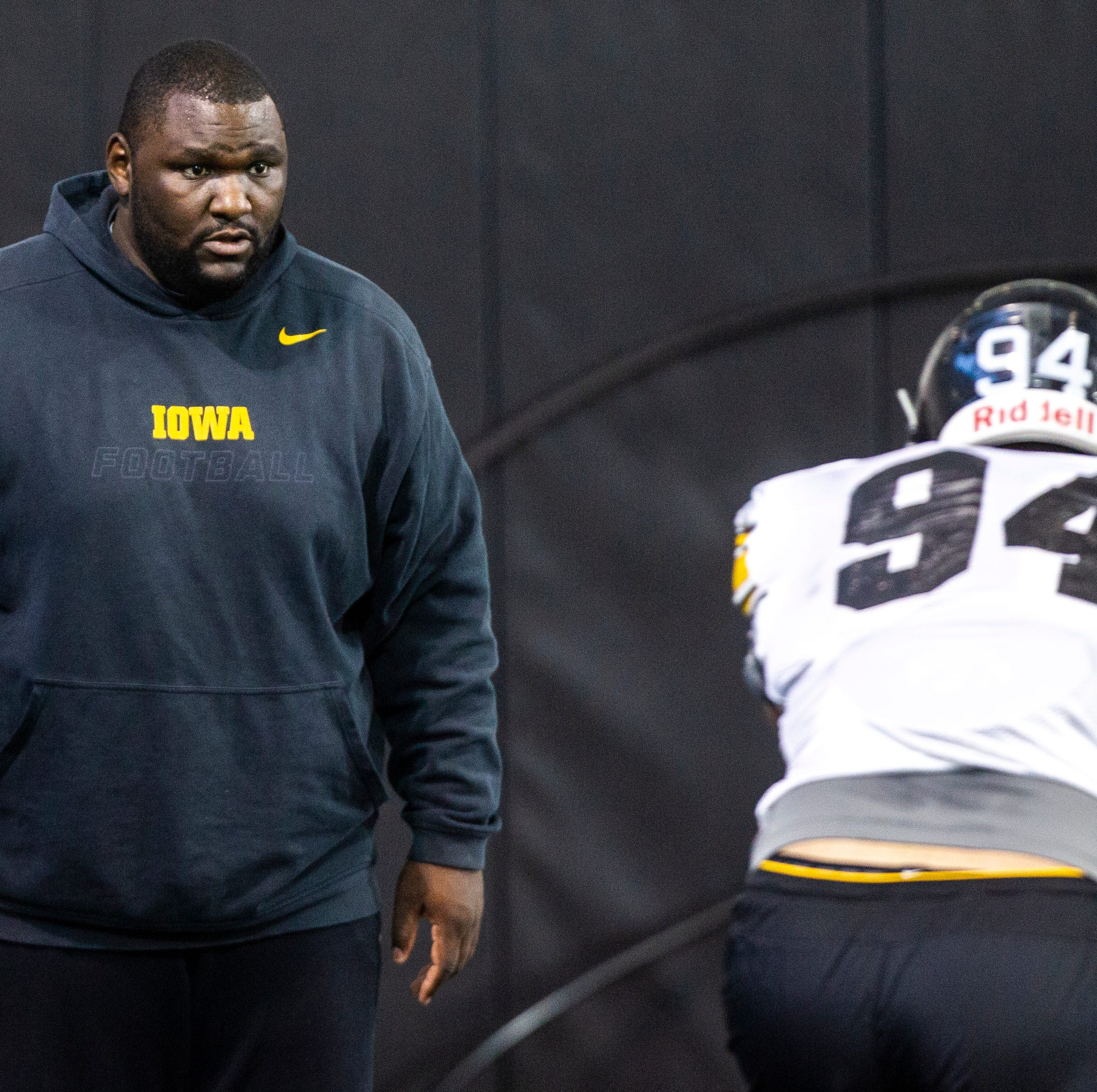 New Iowa defensive line coach Kelvin Bell has message that resonates with his players