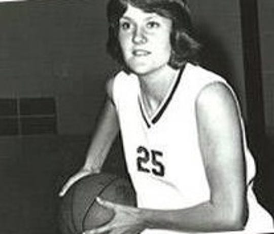 Kelly Krauskopf was a three-year letter winner in basketball at Texas A&M.