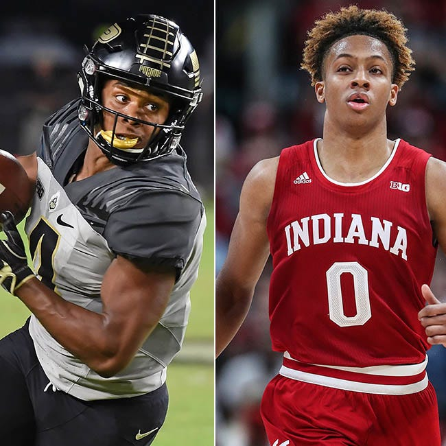 2 phenoms, 1 hometown, 5 houses apart: Buddies Rondale Moore, Romeo Langford bring rare skills to college