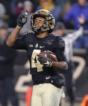 Rondale Moore earned All-American honors as a freshman for Purdue.