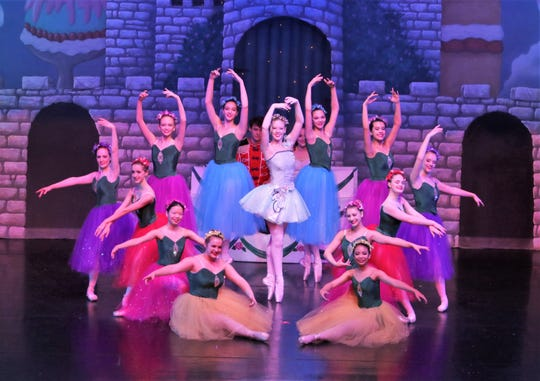 """School children from across West Tennessee gathered at the Carl Perkins Civic Center on Friday morning, December 7, 2018 to see the 37th annual production of """"The Nutcracker"""" presented by Ballet Arts, Inc. of Jackson. The children are admitted to the event free as part of a program paid for by corporate and personal sponsors."""