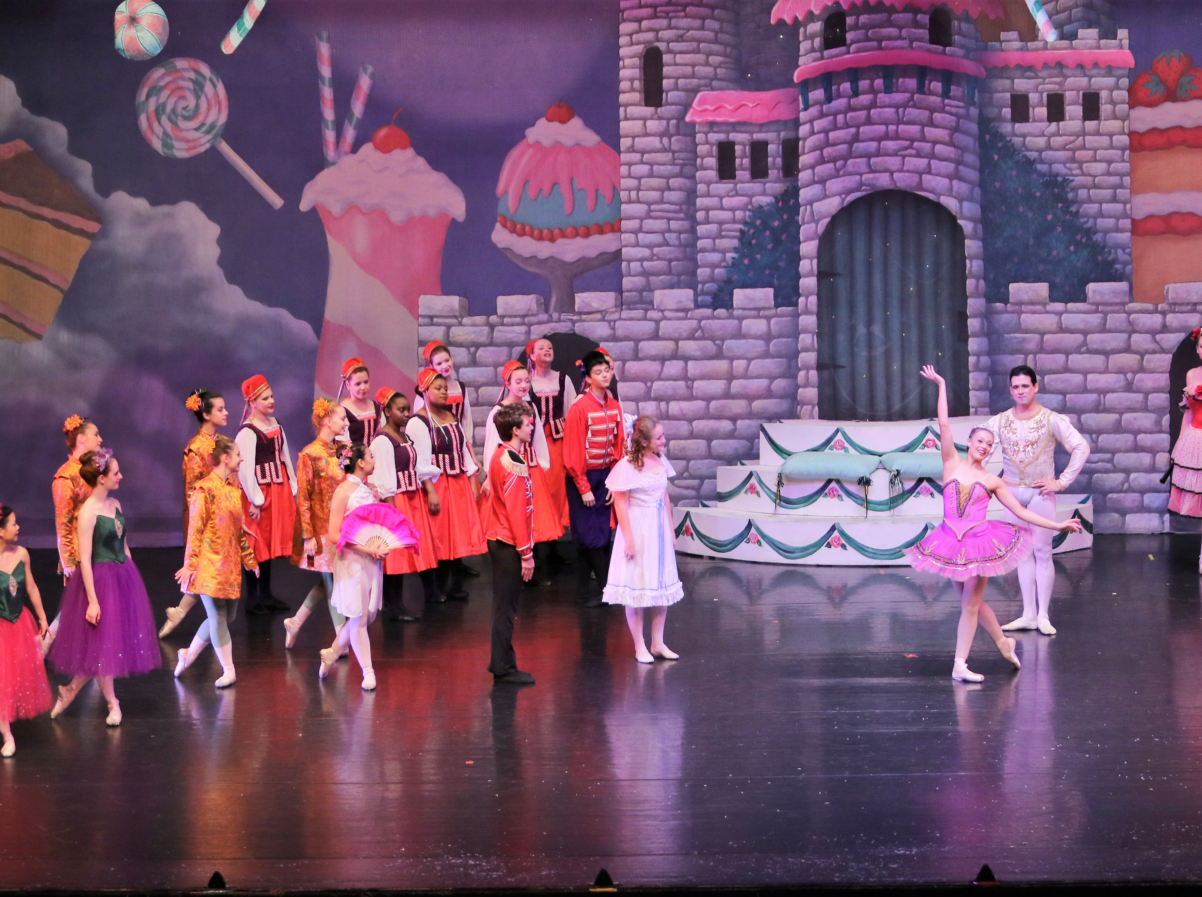 School children from across West Tennessee gathered at the Carl Perkins Civic Center on Friday morning, December 7, 2018 to see the 37th annual production of The Nutcracker presented by Ballet Arts, Inc. of Jackson.  The children are admitted to the event free as part of a program paid for by corporate and personal sponsors.