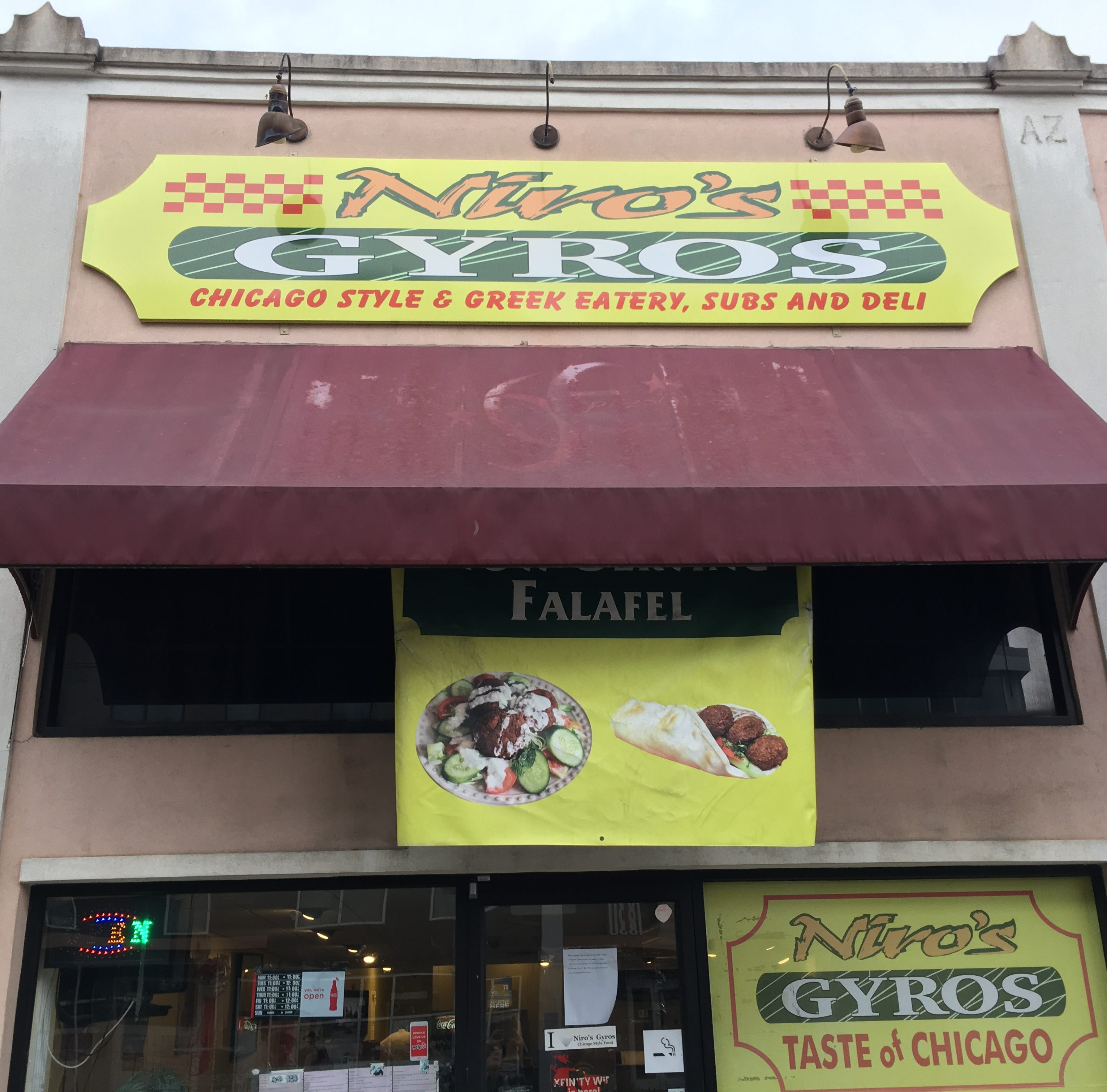 Niro's Gyros on Cumberland Avenue to close after 12 years of operation