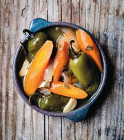 "The recipe for pickled jalapenos and carrots is featured in ""The Essential Mexican Instant Pot Cookbook"""