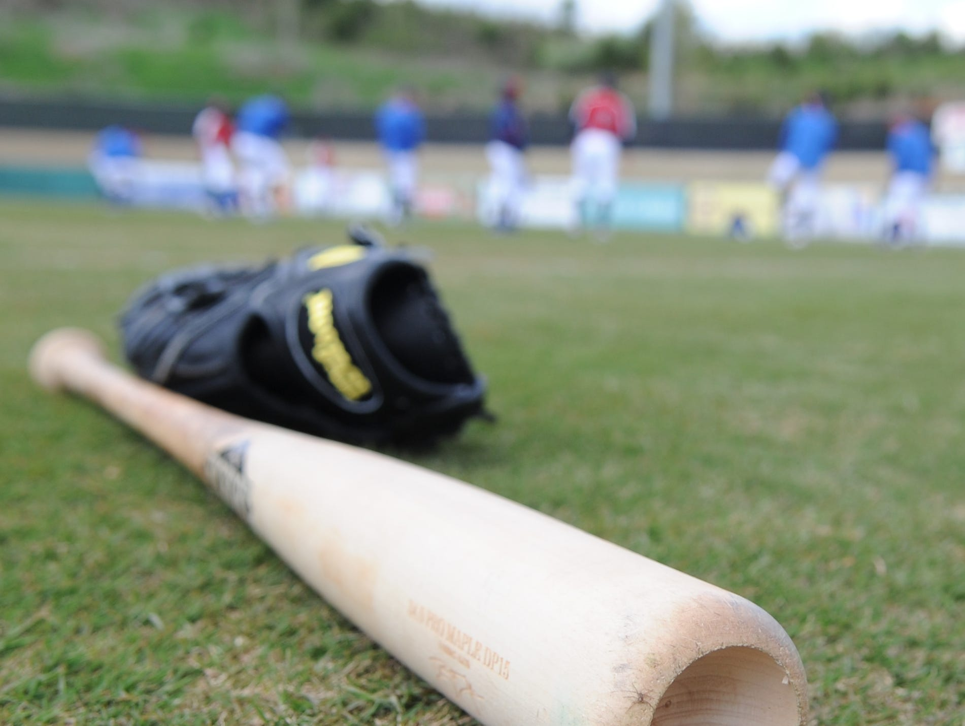 Tennessee Smokies players warm up before media day at Smokies Park on Tuesday, April 5, 2011. The Smokies first game will be Thursday night at Chattanooga.