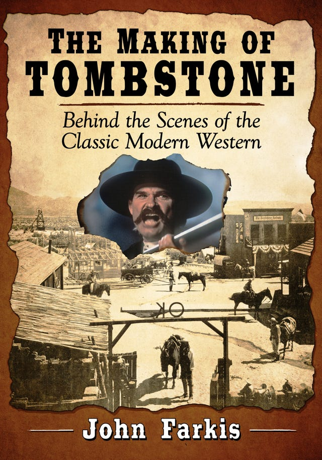 Author interviews famous 'Tombstone' actors, crew for new book