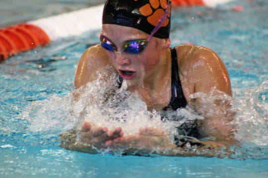 Brighton freshman Jordyn Libler was fifth in the breaststroke at the state meet and helped two relays make all-state.