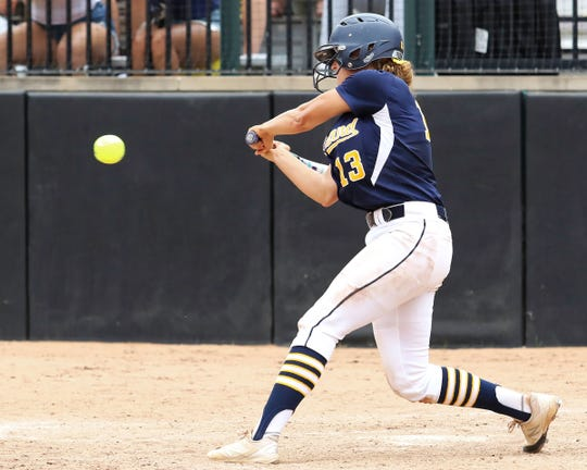 Hartland's Madelin Skene was softball Player of the Year in a county that sent one team to the state championship game and another to the state semifinals.