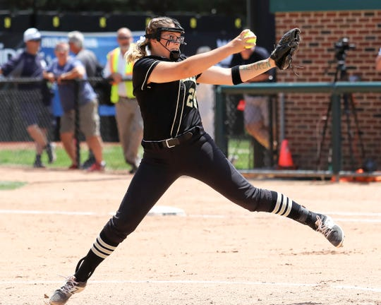 Molly Carney pitched Howell all the way to the state softball semifinals as a sophomore in 2018.