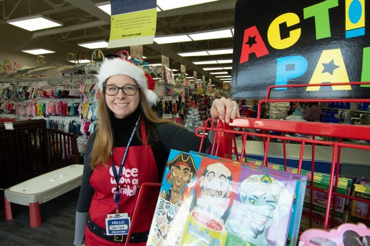 Shirley Williams, co-owner of Once Upon a Child shown Monday, Dec. 17, 2018, is happy to have the Brighton store open.