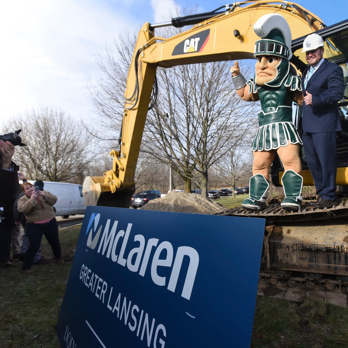 McLaren, MSU officials break ground on $450 million hospital