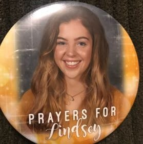Supporters gather and pray for the recovery of Shelby High School senior