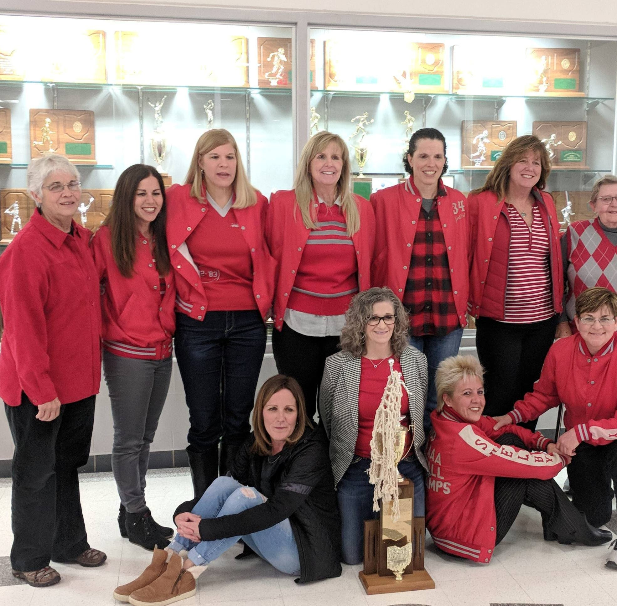 Welcome back: Shelby honors 1983 girls basketball state championship team in style