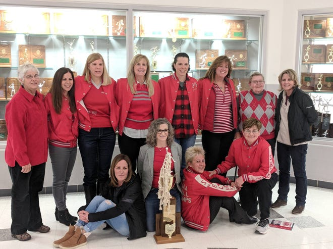 The 1983 Shelby girls basketball team came home to be recognized for the 35th anniversary of its state championship.