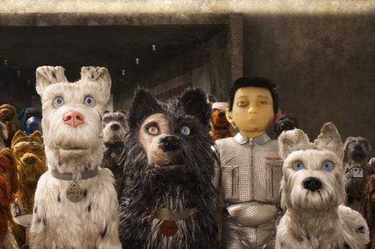 "A scene from the stop-motion animated feature ""Isle of Dogs,"" from director Wes Anderson."