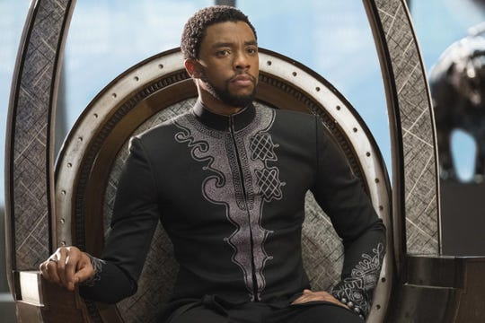 Wakanda forever! Chadwick Boseman starred as the iconic African superhero Black Panther.