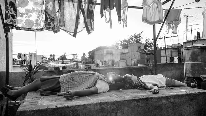 """Life (mainly among the middle class) in 1970s Mexico City is remembered in """"Roma."""""""
