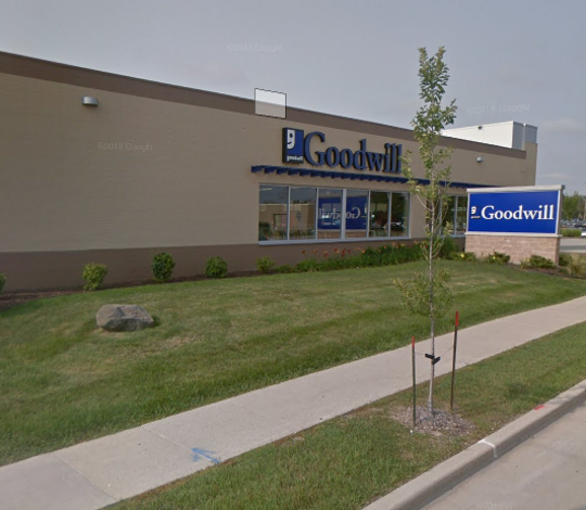 The Goodwill store at 10909 W. Oklahoma Ave. is in a building that used to be a  Big Lots store.