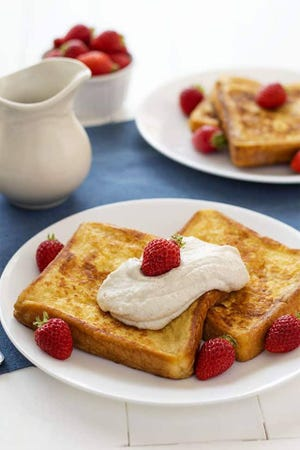 Kay's Diner offers plenty of classic favorites for all meals of the day including the Strawberry French Toast.