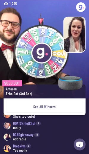 Madison-based Gravy Live Inc. hosts a nightly shopping game show on its app for watchers to buy new products and win cash prizes.