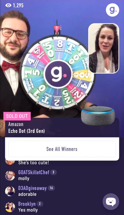 Online shopping game show Gravy Live draws thousands each night