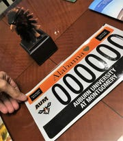 Alabama is set to release the new AUM license plate in January 2019.