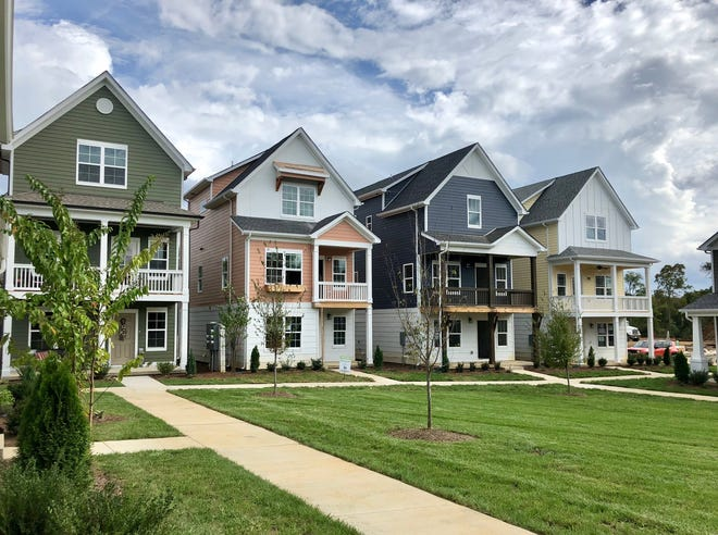 Parkside Builders' homes are designed with buyers of all ages in mind. The company builds in Waterford Village in Hendersonville.