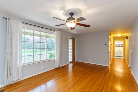 This room in the home for sale at 3038 Wilson Pike is empty, which can make it hard for potential home buyers to see how it would look furnished.
