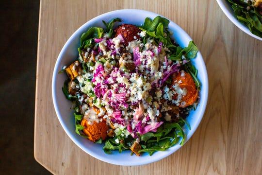 Popular Mediterranean fast-casual restaurant Cava serves a customizable menu of salads, dips, grain bowls, pita sandwiches and soups.