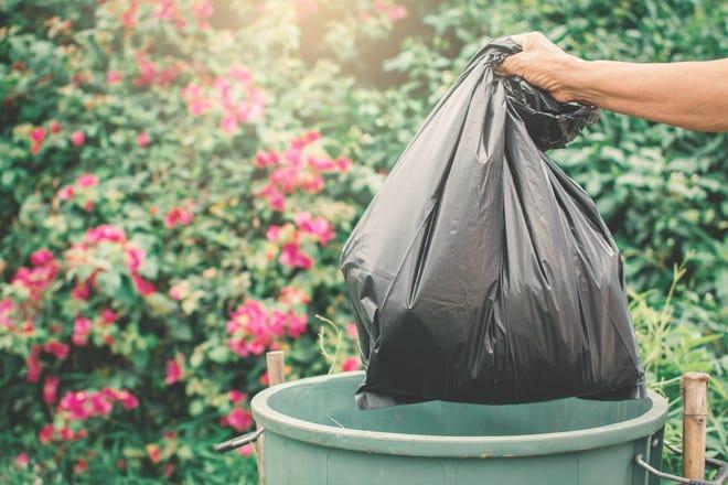 Trash bag.