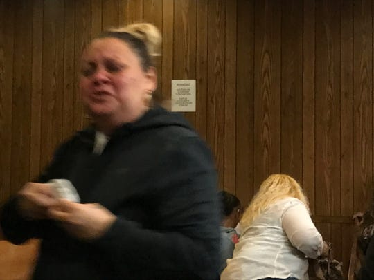 Members of the victim's family stormed out of the courtroom after the verdict was read.