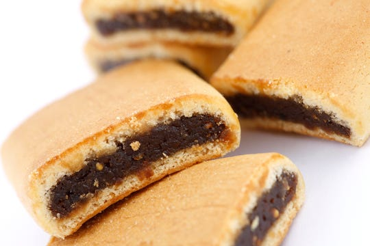 Fig bars make great snacks or desserts.