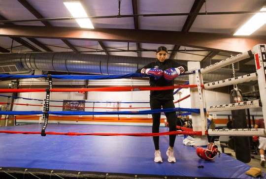 Ariana Carrasco, 15, earned a spot on the USA Junior Olympics team.