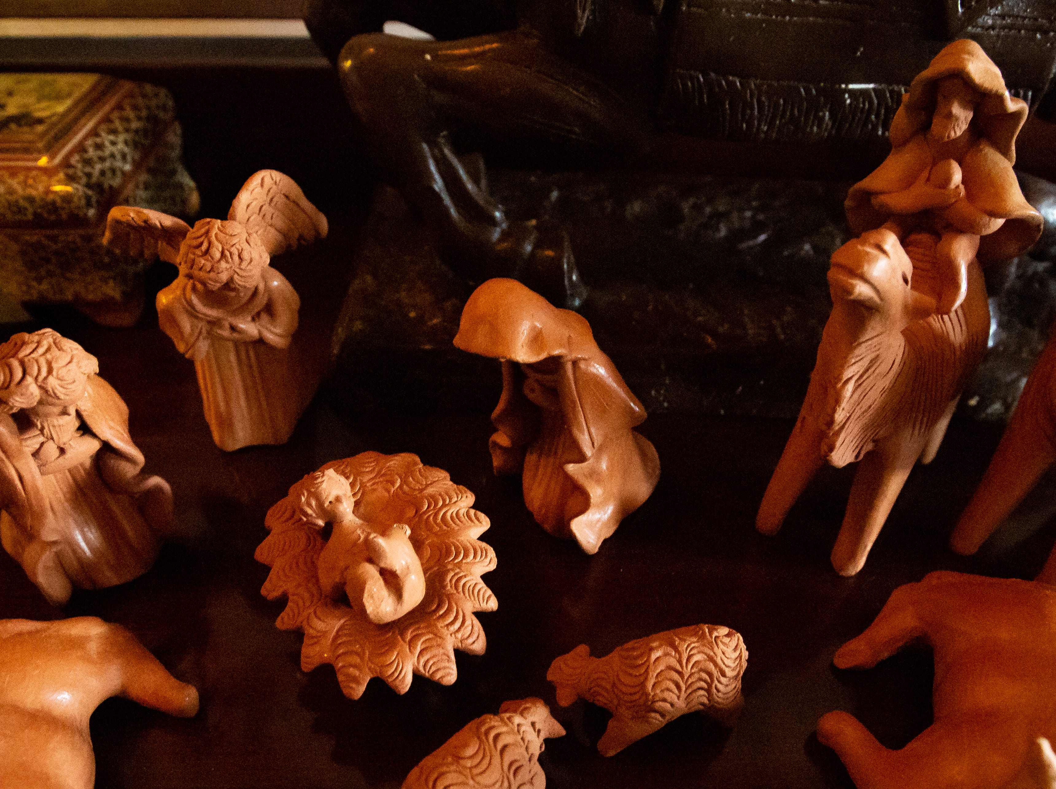 Over 175 nativity scene are on display on Sunday, December 16, 2018, during Nacimiento Open House with J. Paul Taylor at the Taylor-Barela-Reynolds-Mesilla Historic Site located in the Mesilla Plaza.