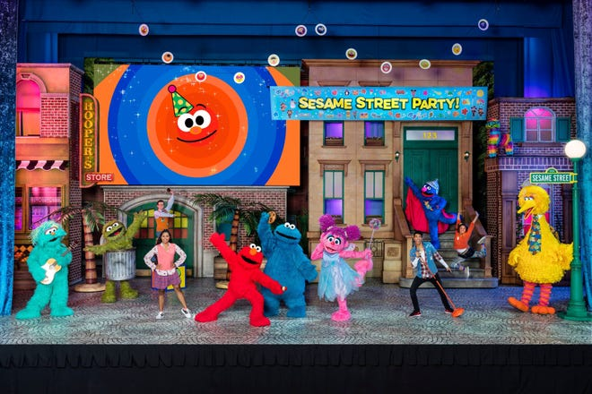 The Sesame Street Live! Let's Party! show comes to the Abraham Chavez Theater in El Paso on Dec. 22 and Dec. 23.