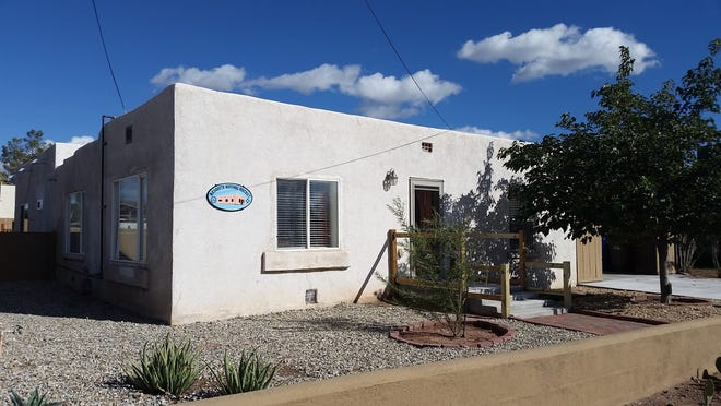 Old Bean House, 190 N. Tornillo St., in the Mesquite Historic District.