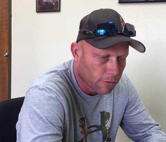 Carlsbad Fire Lt. Scott Maxwell
