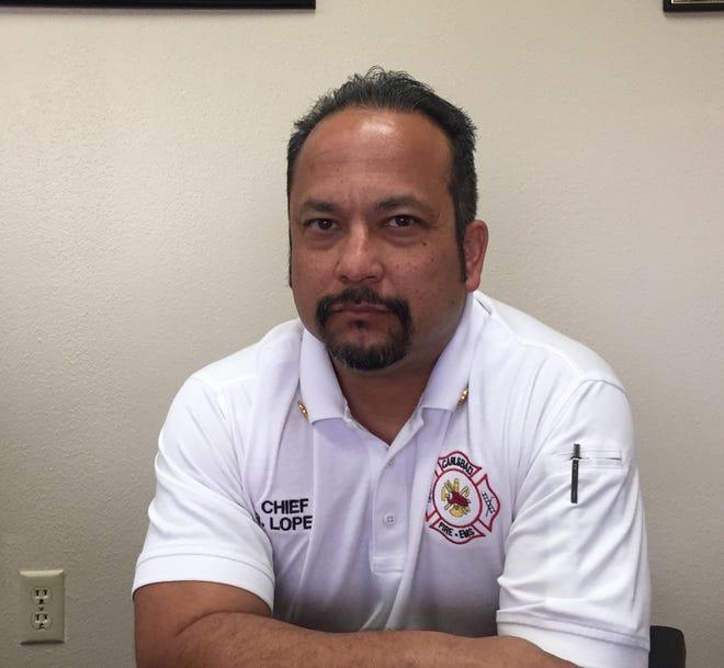 Carlsbad Fire Chief Rick Lopez