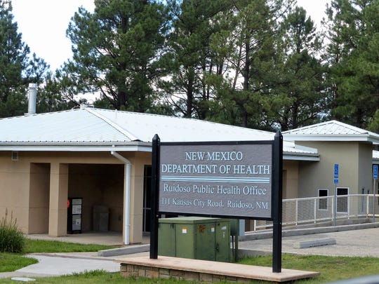 The New Mexico Public Health office is on Kansas City Street next to the Ruidoso Public LIbrary.