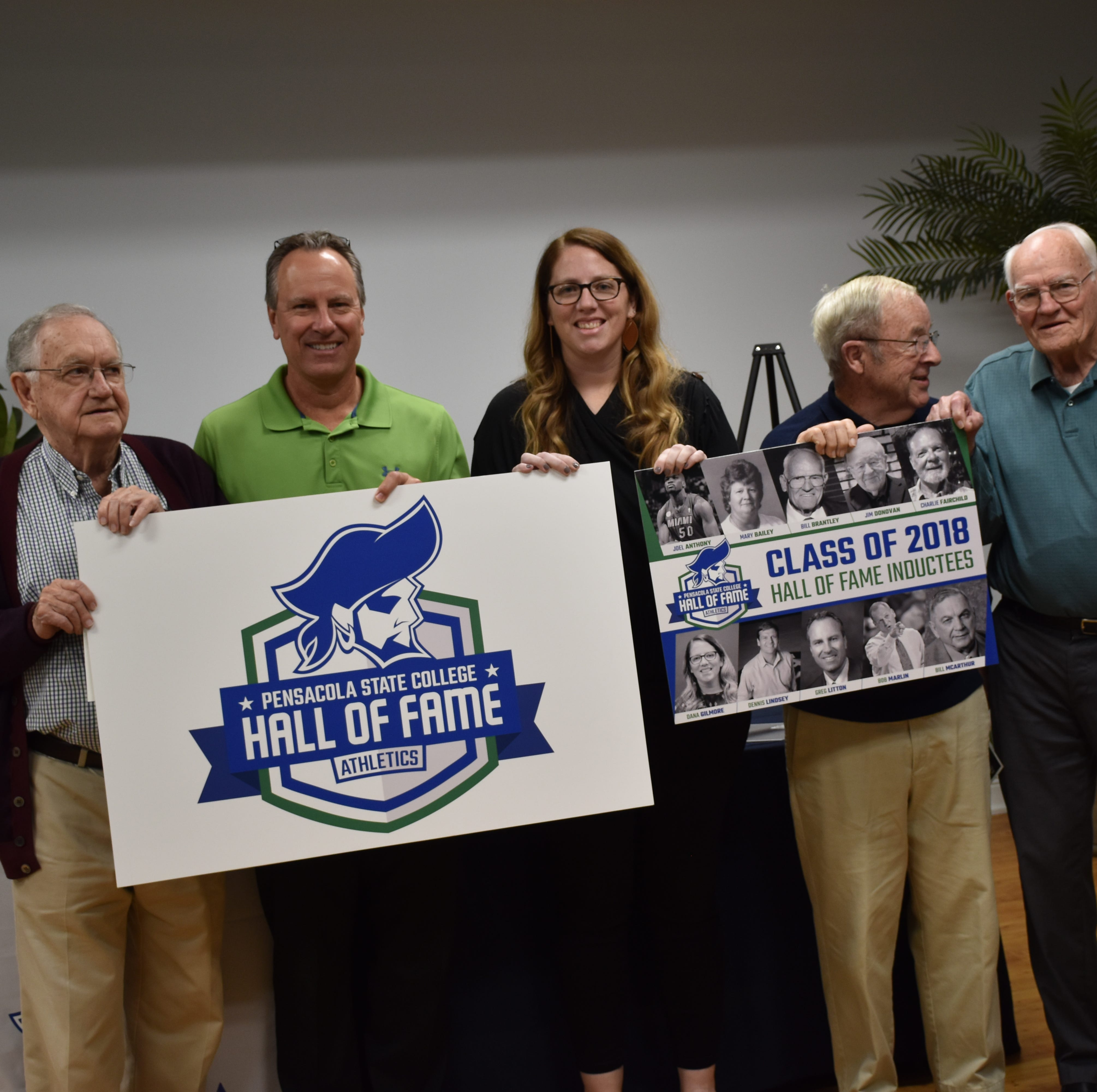 Pensacola State College launches athletic hall of fame, announces first class of inductees