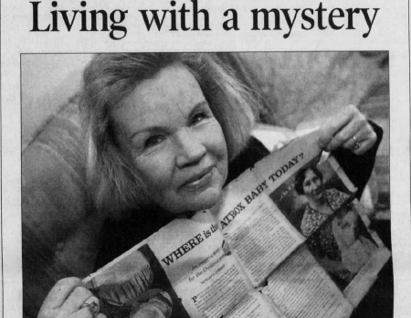 An update on Sharon Elliott's story as the Hatbox Baby as published in The Arizona Republic on Dec. 24, 2003.