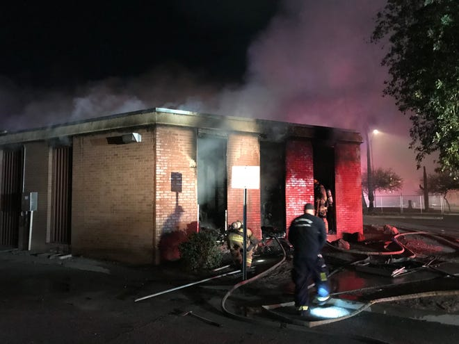 One person was found dead inside a commercial building after afire in Phoenix on Sunday Dec. 16, 2016.