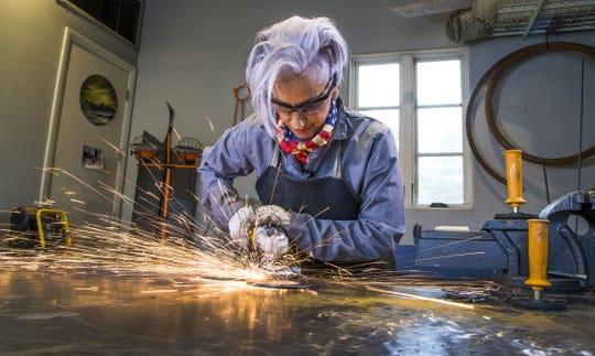 """I can bend metal. It's like a superhero,"" Brenda Warner says."