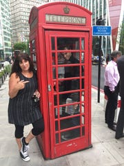 I like a good old-fashioned phone, like this one in London, England.