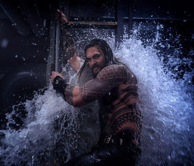 "Jason Momoa stars in ""Aquaman."""