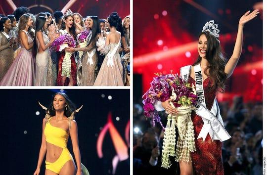 Miss Filipinas destacó en cada una de las pasarelas,