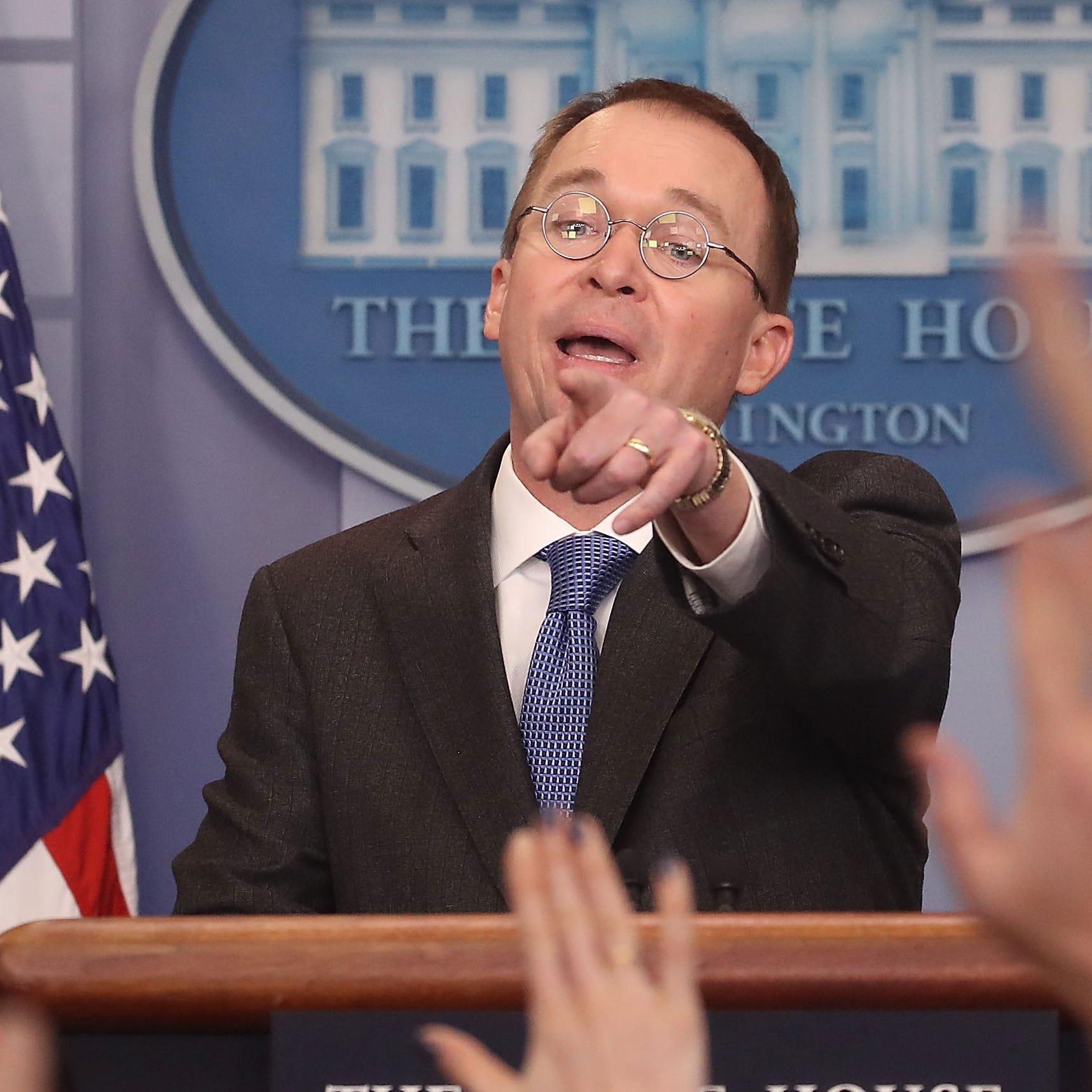 Mick Mulvaney, nuevo jefe de gabinete de la Casa Blanca.